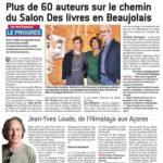 Sens interdits - 5e Salon Des livres en Beaujolais - Le Progrès