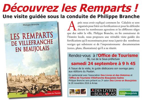 D couvrez les remparts de villefranche en beaujolais - Office du tourisme villefranche ...