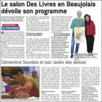 Le 5e Salon des livres en Beaujolais dévoile son programme - Le Progrès