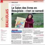 Des Livres en Beaujolais - Rencontre avec Françoise Rey - Le Progrès