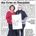 Plus 70 auteurs au salon des livres en beaujolais le progrès